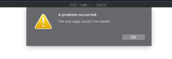 WiFi Error!